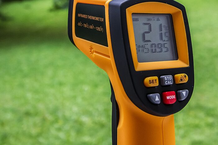 How to reset infrared thermometer
