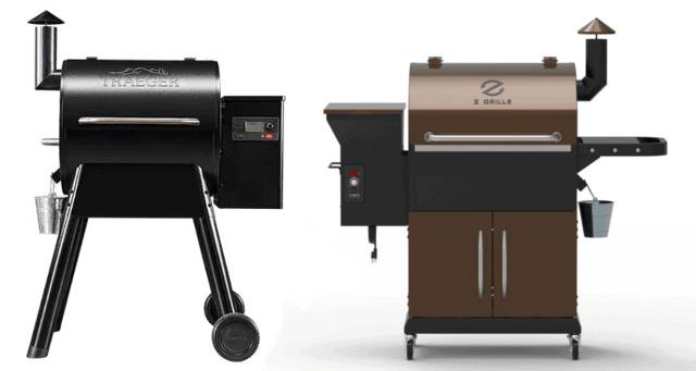 How do Z grills compare to Traeger?